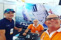 Itajaí Sailing Team é protagonista do Vela Show